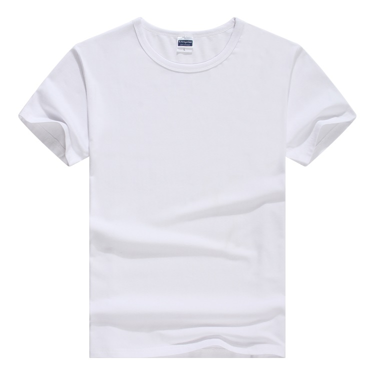 ラウンドネック綿T-shirtカスタムメイドロゴメンズカジュアルtシャツ