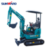 SUNWARD SWE18UF excavator mini tractor with cheapest price