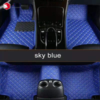 Mcow 2020 High Quality Durable Customized Leather 3D 5D Car Foot Mat Car Floor Carpets Car Mats