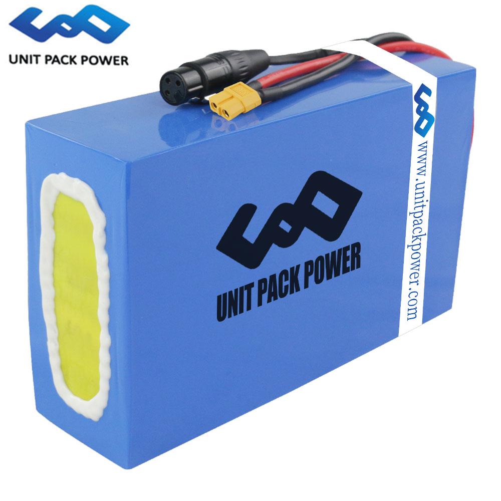 DIY 48V 10Ah 15Ah 20Ah 25Ah 30Ah Lithium ion akku case 18650 Ebike Battery Packs for Electric Bike Bicycle Scooter 1000W 1500W