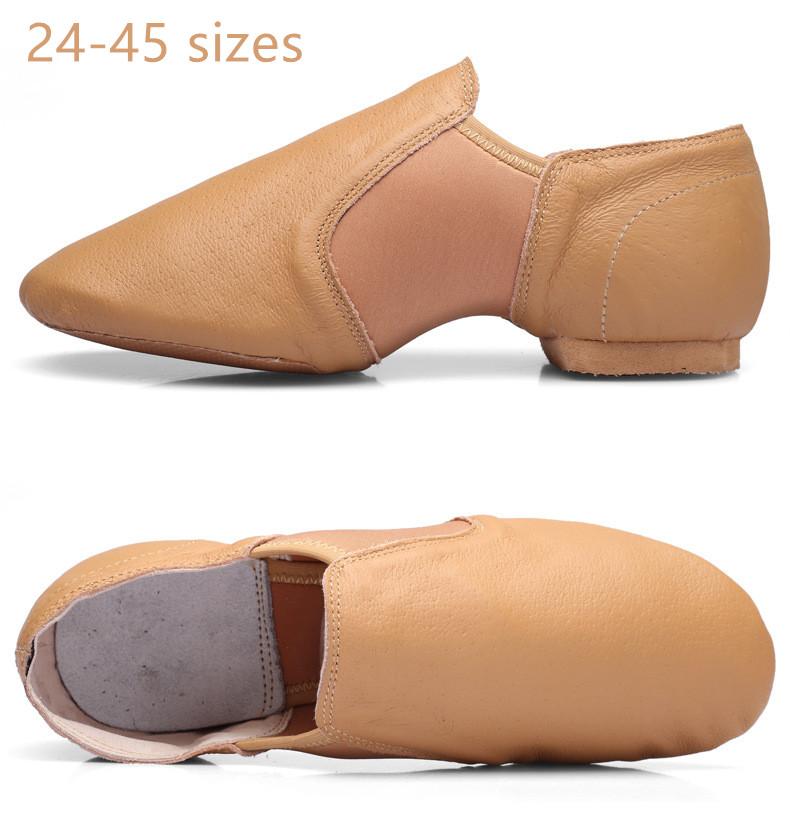 SinceY Kids Jazz Schuhe, PU Schwarz Jazz Tanzschuhe Adult