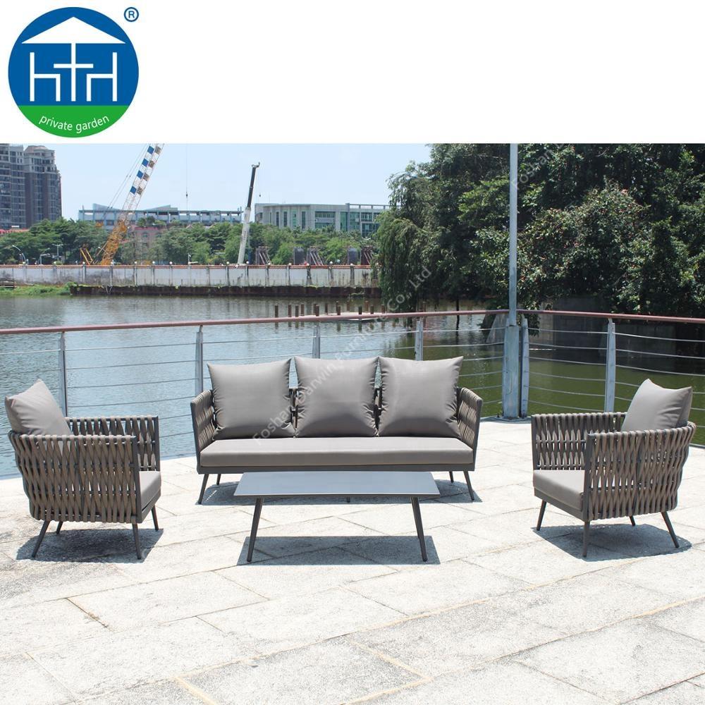 China Manufacturer Outdoor Sofa Lounge Furniture Rattan ...