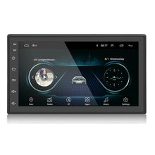 Double DIN Autoradio Play 7 นิ้ว Touch Screen 2 DIN GPS 1 + 16G Universal Player Android รถวิทยุ