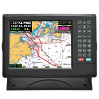 XINUO 10.1 Inch Marine AIS XF-1069B Support C-Map Chart Navigation & GPS Chart plotter Combine with AIS Transponder Class B