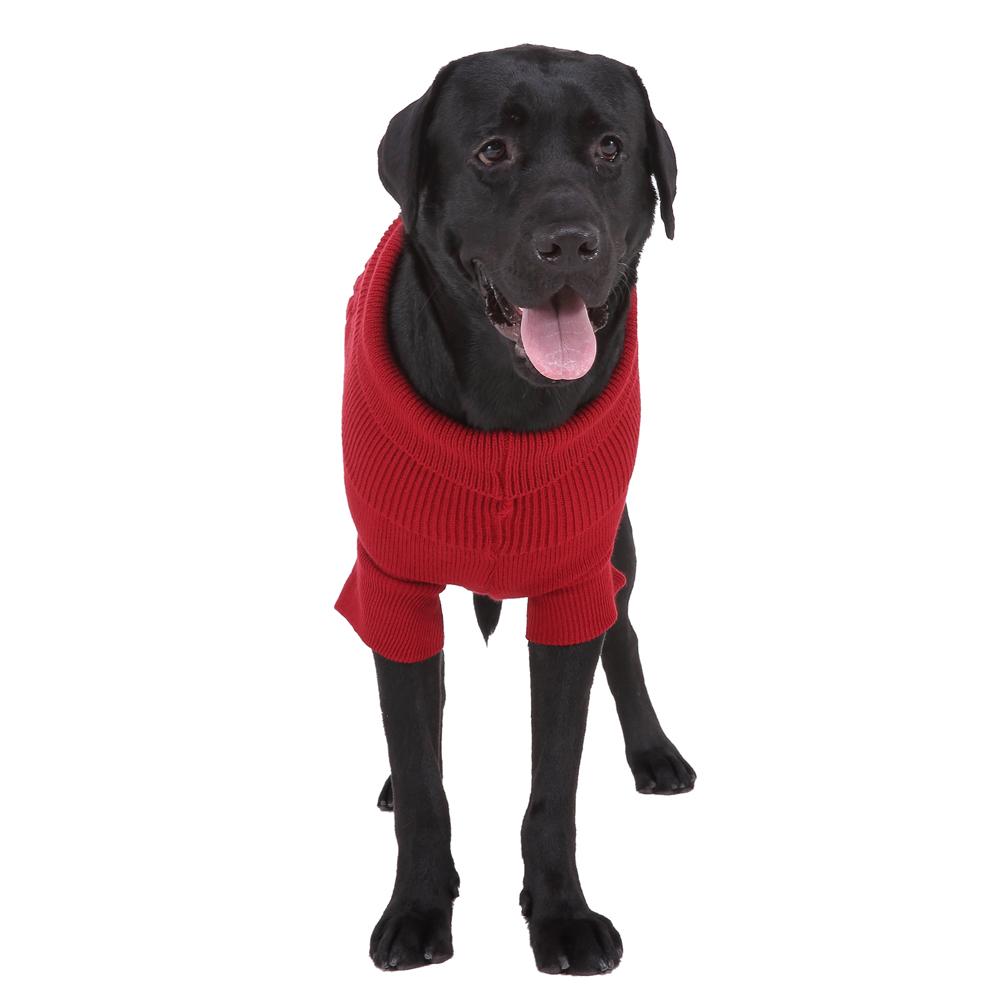Wholesale Ecofriendly Heated Knitting Patterns Hand knit Large Dog Sweater