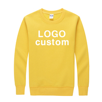 Custom hoodies men 100% Cotton pink mens crew neck sweatshirt,basic pullover hoodie,plain xxxxl crewneck hoodies sweatshirts