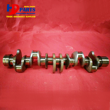 Diesel Engine Parts 6HK1 Cast Steel Crankshaft