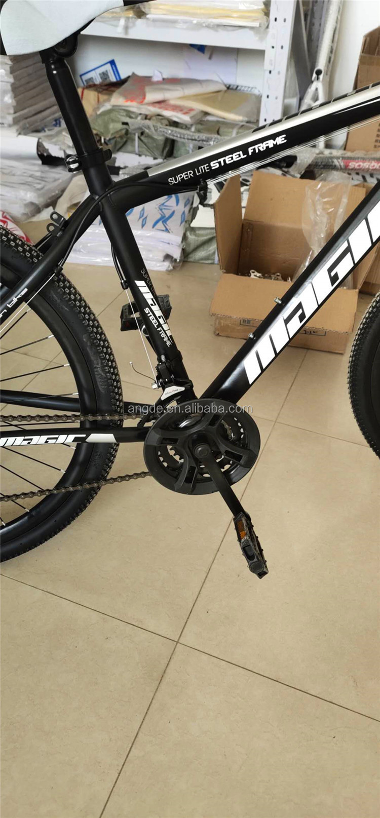 2020 sıcak satış dağ bisikleti 26 inç boya çerçeve, 24 hız, çift disk fren, alüminyum alaşım bıçak halka bisiklet dağ bisikleti