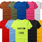wholesale bulk custom print cheap promotional dry fit mesh 100% microfiber polyester gym t shirt