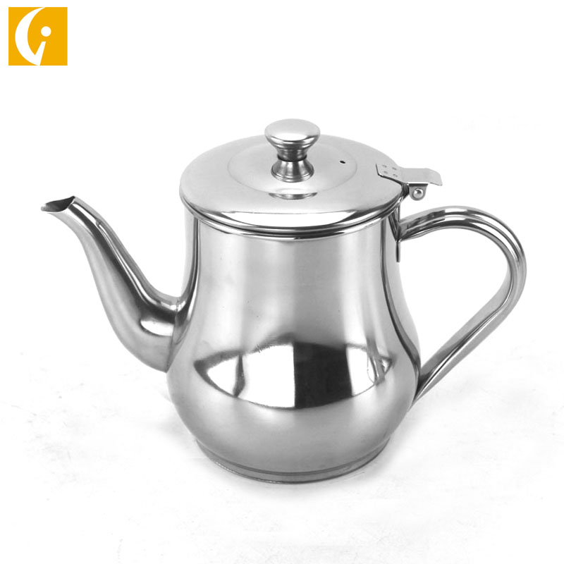 2019 Eco-friendly stainless steel oz kettle/water kettle/soy sauce vinegar kettle