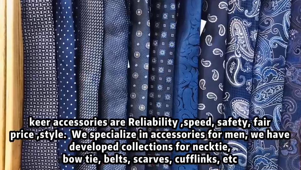 High Quality Fashion Italian Mens Silk Neckties Handsome Black Tie