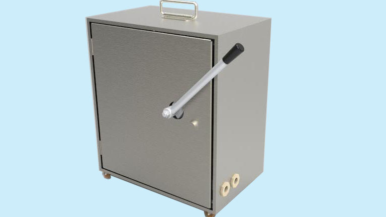 הגעה חדשה ללא חשמל נייד יד מופעל מיני UF מערכת, אולטרה הדגמה מכונה