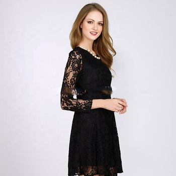 Pretty Steps Inport From China 2019 New Model One Piece Girls Lace Party Prom Dresses For Women
