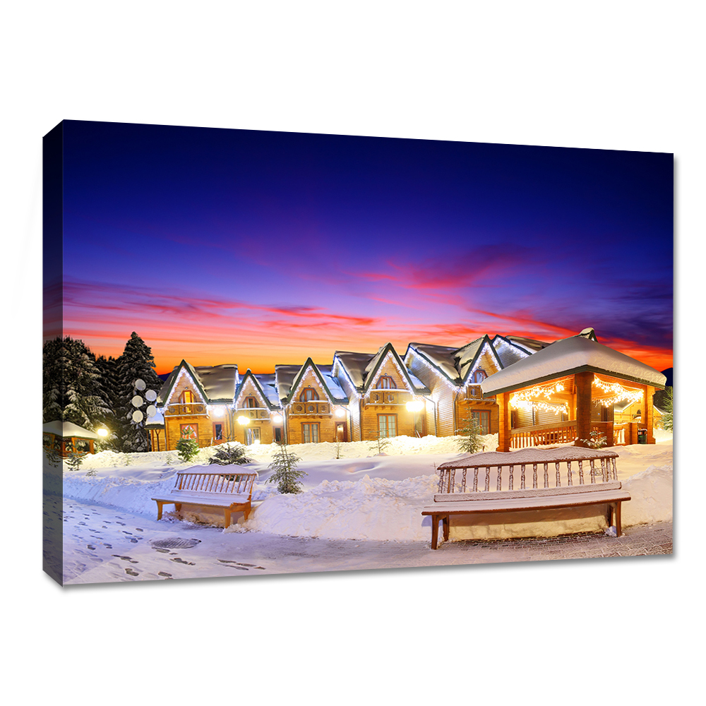 Printing services custom led canvas painting hotel decorative wall art