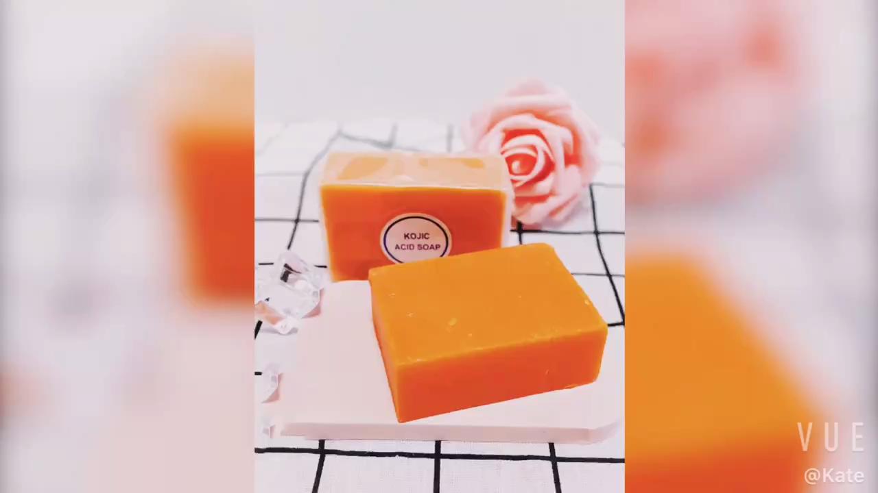 100% Pure & Alle-Natürliche Seife Aufhellung Tiefe Reinigung Anti-Aging-Bleaching Lather KOJIC Säure Seife