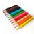 Manufacturershot selling pencil color set custom logo 12 wooden color pencils packing in paper box/tube