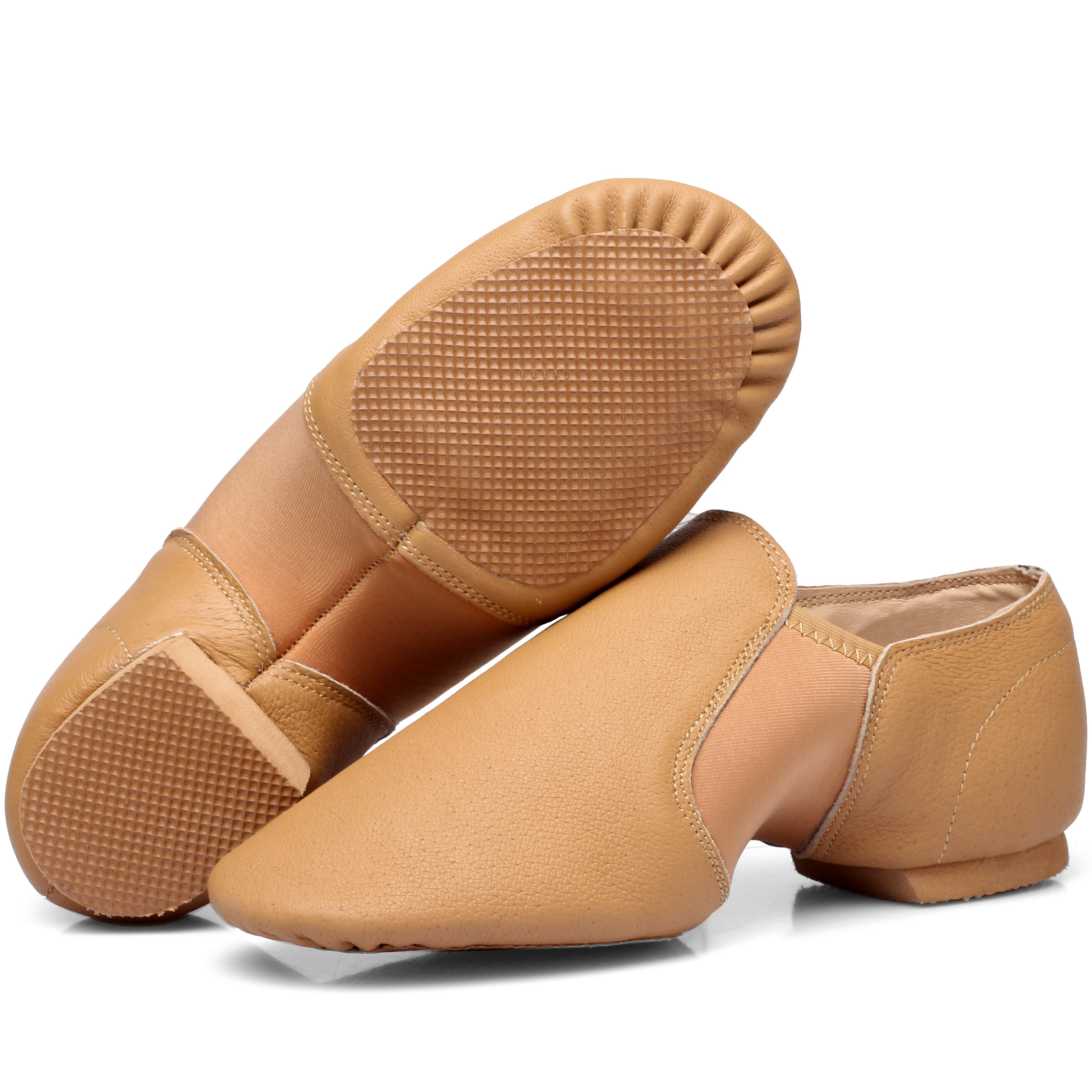 Profissional das mulheres jazz sapatos de dança sapatos de dança jazz sapatos de dança de salão de couro macio