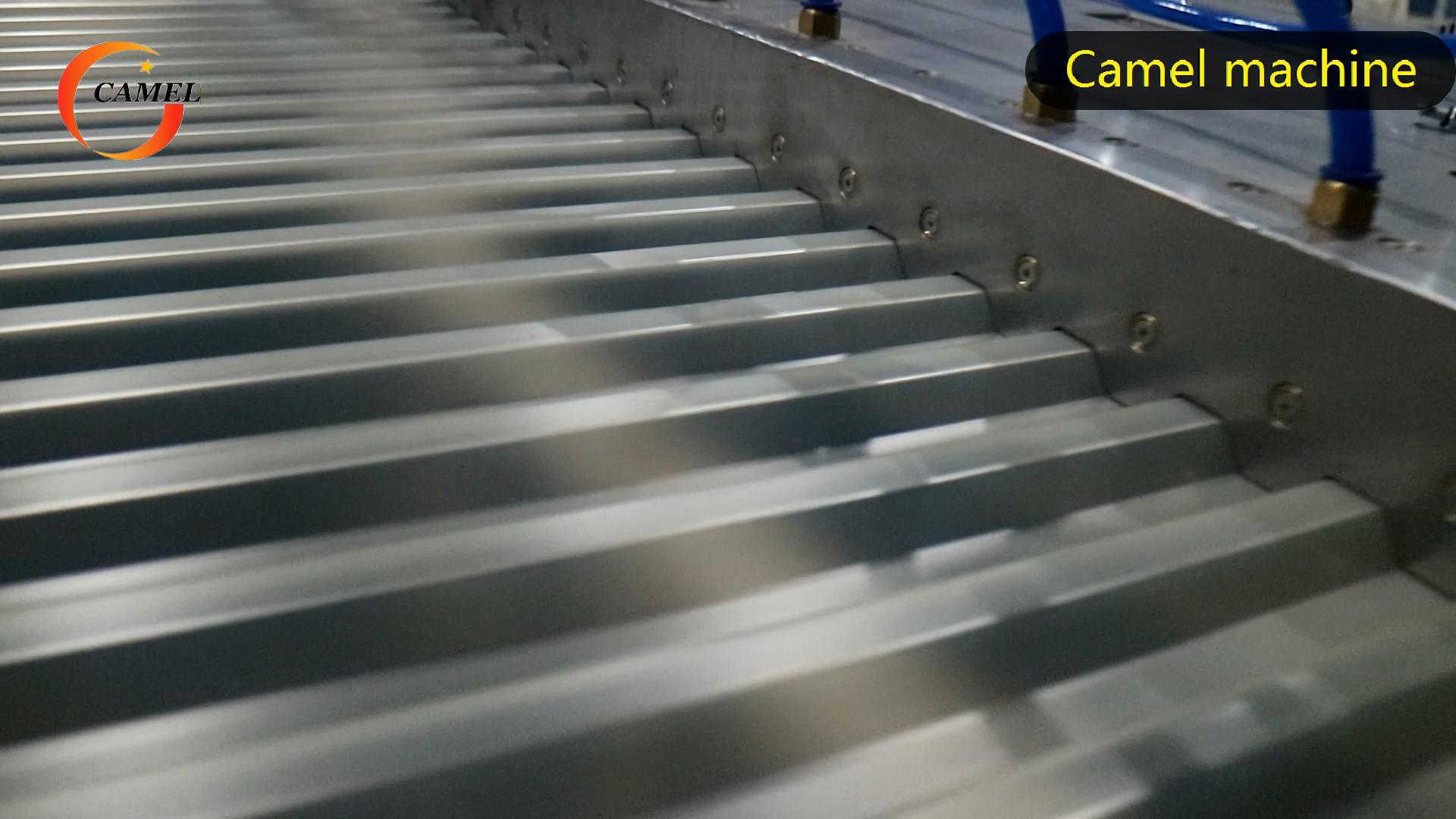 Produktions linie für PVC-Dachziegel platten Wellblech-Extrusion linie