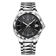 LIGE 2020 Роскошные Мужские механические наручные часы из вольфрамовой стали, мужские водонепроницаемые часы от лидирующего бренда с сапфиров...(Китай)