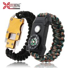 Baiyuheng China Leverancier Armbanden Meisjes Whistle Paracord Heren <span class=keywords><strong>Armband</strong></span> Sluitingen