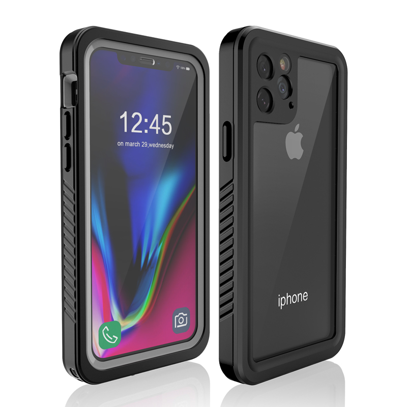 NEW Developed Wholesale IP68 Shockproof Waterproof SupportWireless Charge Underwater Phone Case Cover for iPhone 11 Pro <strong>Max</strong> 6.5'