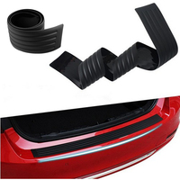Rubber Rear Bumper Protector Sill plate accessories For kia Rio sedan 2011-2017/ Carens 2008 - 2015/ K3 K4 K5 Sportage R