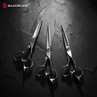Razorline AK26 2020 Newest Professional Hot Sell Christmas Gift Japanese 440C Steel Hair Shears