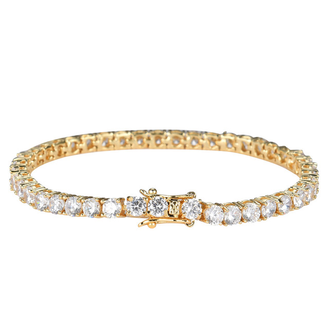 Hot Selling Brass Mirco <strong>Tennis</strong> <strong>CZ</strong> <strong>Bracelet</strong> Two Size For Choose