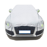 Hot sale PEVA plastic half car cover car accessories by Yaheng