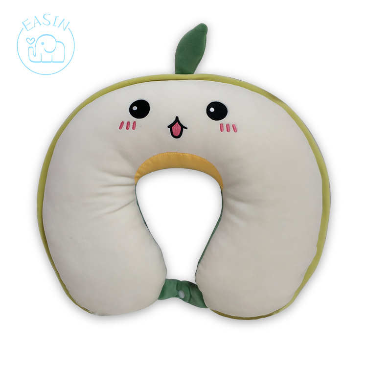 Wholesale Soft Plush Animal U Shaped Travel Neck Throw Pillow For Kid