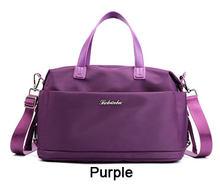 Piler Oxford женская сумка для путешествий, водонепроницаемая нейлоновая женская сумка, розовая большая сумка на плечо, сумка для багажа, сумка в ...(Китай)