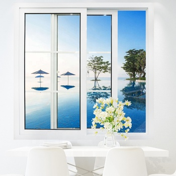 upvc/ pvc/ plastic french sliding window