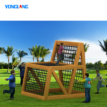 YL-MBJ018 High Quality Children Playground Backyard Outdoor Playground Play Equipment Sets