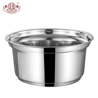 Wholesale home kitchen cookware metal sauce pot stainless stew inner pot
