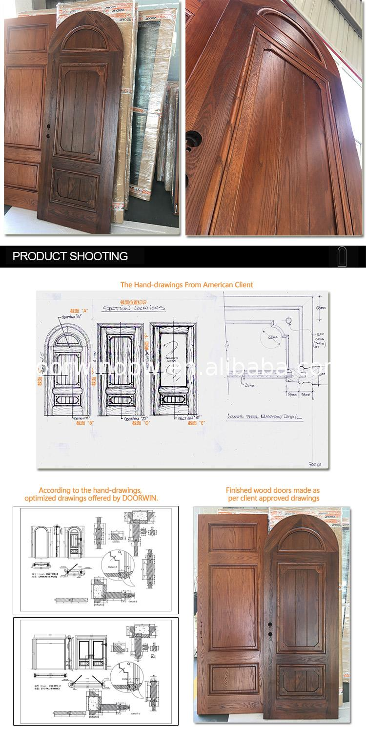 China Supplier all wood interior doors affordable adjusting