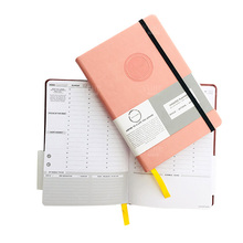 Offsetdruk hardcover topkwaliteit draad binding journal korte run offsetdruk nieuwe school note book