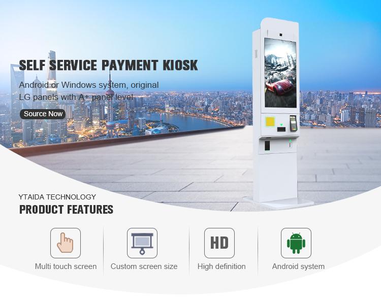 Ristorante Sistema di Ordinazione Self Service Chiosco Internet Veloce ordine di Cibo Macchina Con sistema di Riconoscimento Facciale