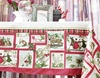 Christmas holiday jacquard rustic table cloth for new year home party usage