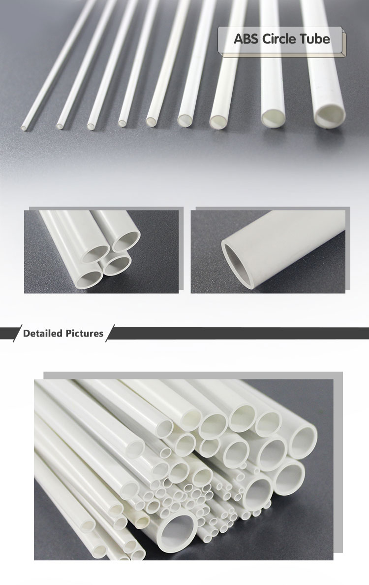 High Quality And Best Price Clear Abs Pipe Price Abs Circle Tube