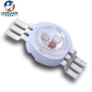 China factory sell 6 pins Epileds 3w RGB high power led for led stage lighting
