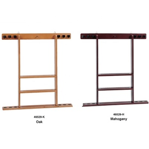 Heigh End Solid Wood Billiard Cue Rack Cue Holder