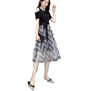 Sexy women clothes 2019 Formal Black Wholesale Casual Dresses for Women