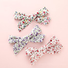 CLARMER Fashion Hair Accessories Lovely Decorative Ribbon Bow Baby Hair Pin Baby Barrette Flower Hair Clips