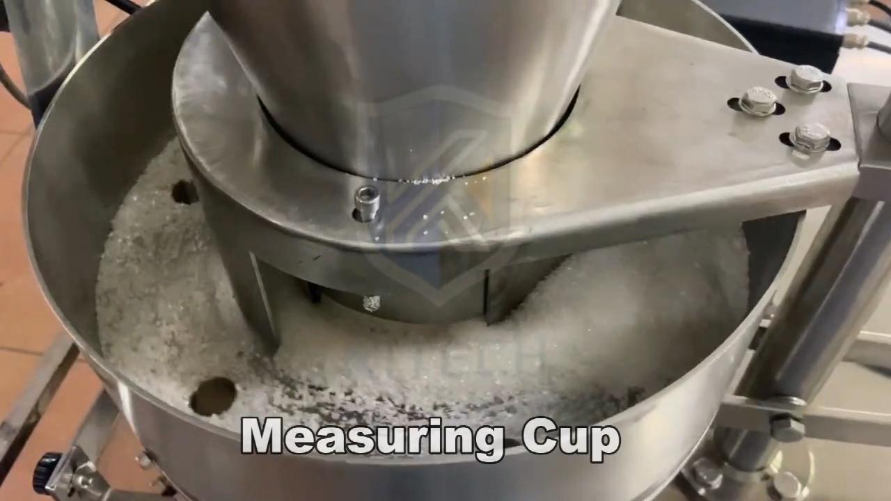 אוטומטי 5 גרם מלון סוכר מלח גרגרי מקל שקית אריזה מכונה