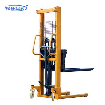 NEWEEK small forklift manual platform hand pallet stacker for sale