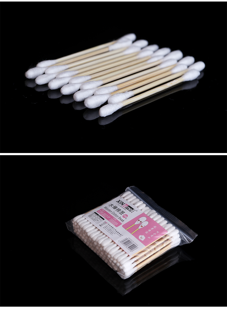 Yilong Double head cotton swab is safe for tattoo use
