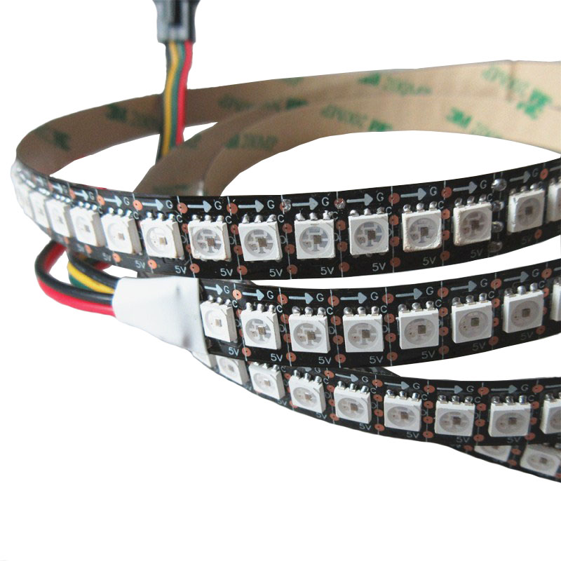 APA102-2020 <strong>RGB</strong> 5V Breakpoint continuingly 30/60/72/144/LEDS/M LED strip light
