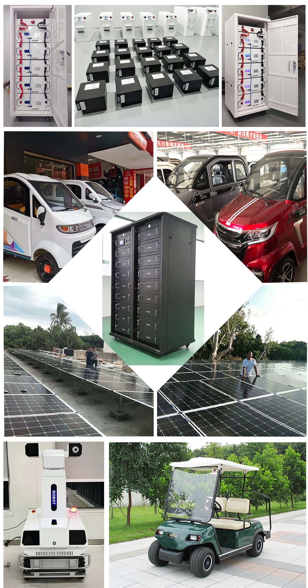 Wholesale high density rechargeable solar energy lifepo4 lithium battery 10kw 20kw