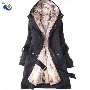 cheap for discount e8e43 99d80 Moderner Damen-wintermantel Aus Pelz Mit Kapuze Und Langem Wintermantel -  Buy Wintermantel Für Frauen,Damen Winter Pelz Gefüttert Mantel,Winter Weiß  ...