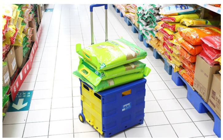 2019 Selling the best quality cost-effective products folding wheel cart